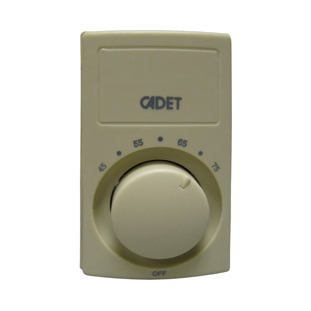 medium resolution of bimetal 25 amp double pole wall thermostat with heat anticipation