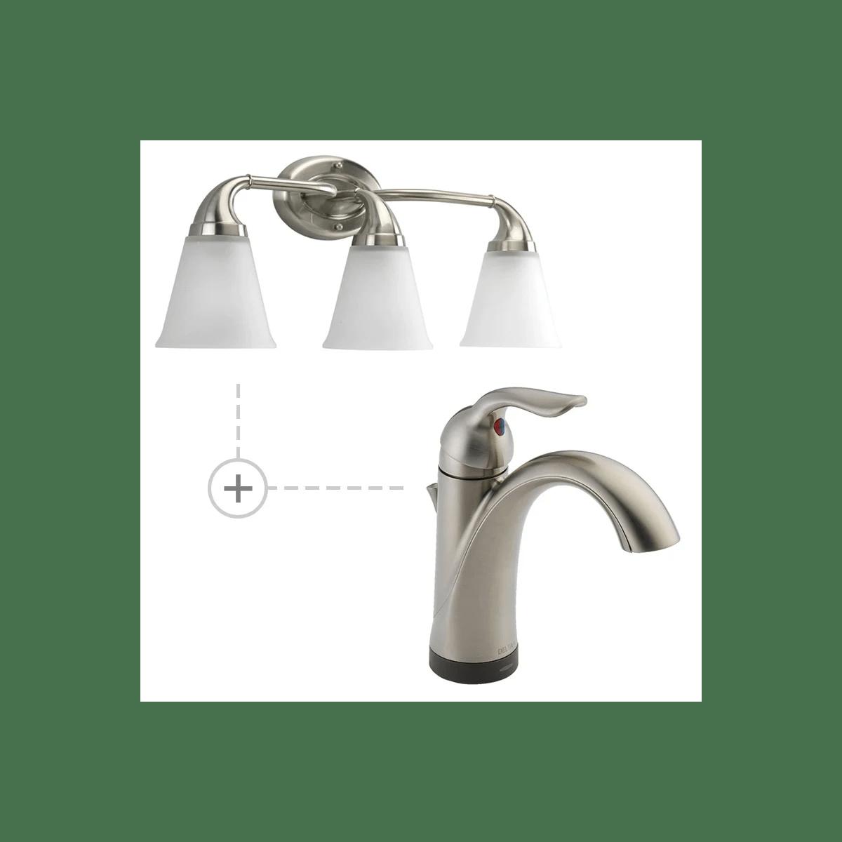 lahara single hole bathroom faucet