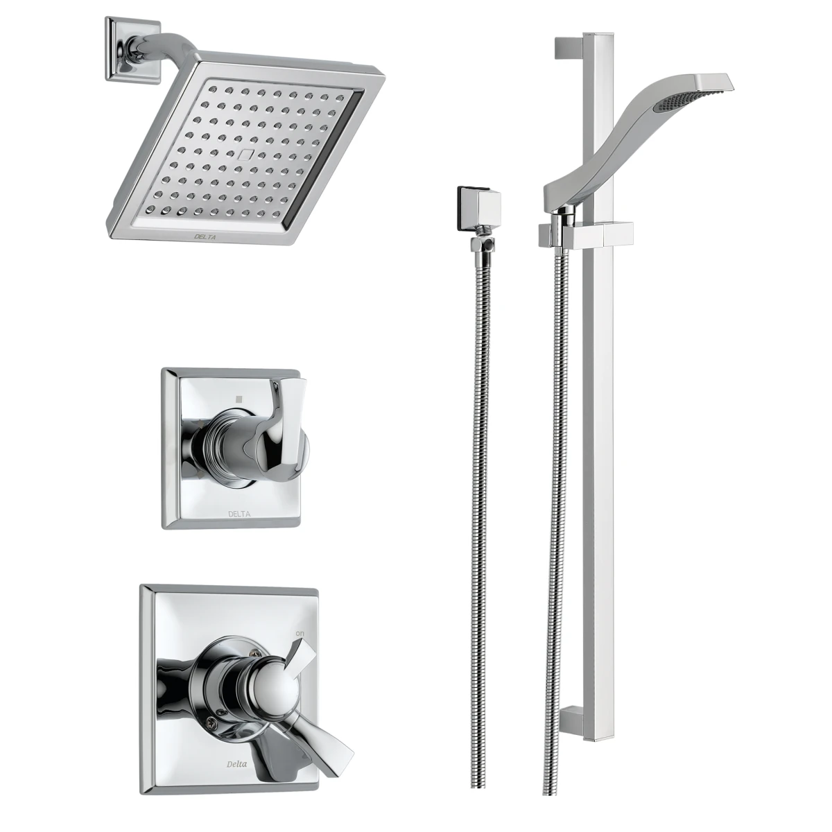 Delta Dss Dryden 1701 Chrome Monitor 17 Series Dual Function