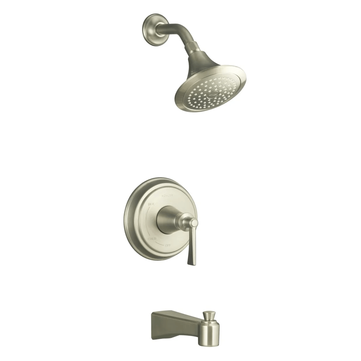 Kohler K T11077 4 Bn Brushed Nickel Archer Rite Temp Single
