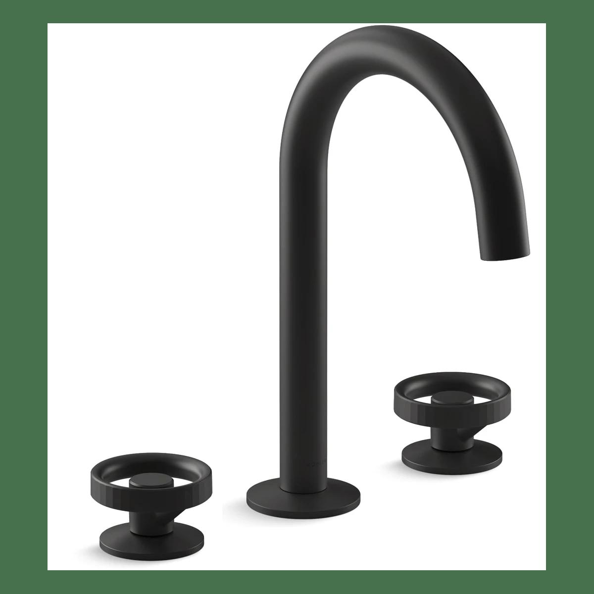 black bathroom faucets kohler image