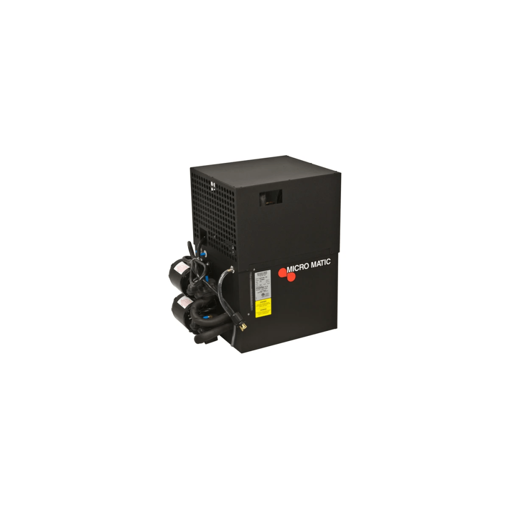 medium resolution of micromatic mmpp4302 pkg pro line 1 2 hp glycol power pack up to 250 ft run 2 pumps motors
