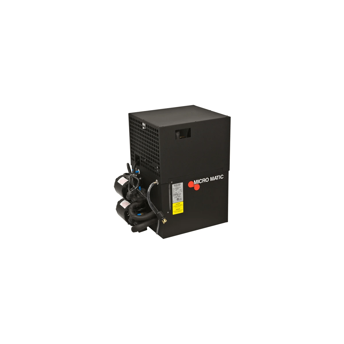 hight resolution of micromatic mmpp4302 pkg pro line 1 2 hp glycol power pack up to 250 ft run 2 pumps motors
