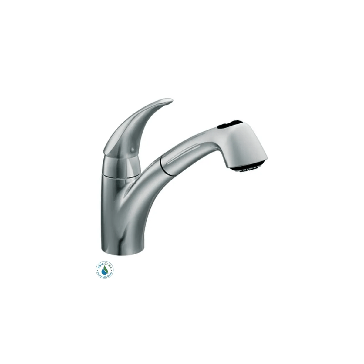 kitchen faucet with pullout spray
