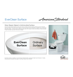 american standard 215ba 104 020 white cadet pro round front two piece toilet with everclean surface powerwash rim and right height bowl faucet com [ 1794 x 1200 Pixel ]