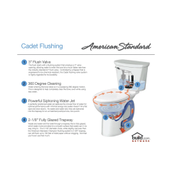 american standard 215db 104 020 white cadet pro round front two piece toilet with everclean surface and powerwash rim 10 rough in faucet com [ 1542 x 1200 Pixel ]