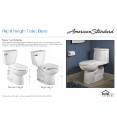 american standard 2891 128 020 white boulevard elongated luxury one piece toilet with concealed trapway everclean surface powerwash rim and right height  [ 1968 x 1200 Pixel ]