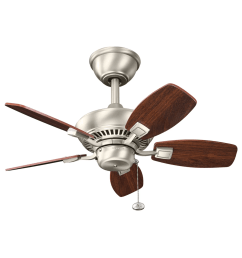 kichler 300103wh white canfield 30 indoor outdoor ceiling fan with blades and downrod lightingshowplace com [ 2250 x 1200 Pixel ]