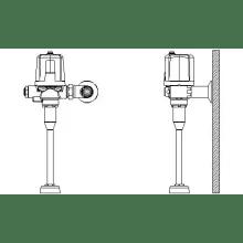 Delta Commercial Electronic Flushometer Valves
