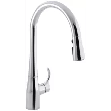 kitchen faucets cheap 3 basin sink all on sale at faucet com discount simplice single hole with 16 5 8 pull
