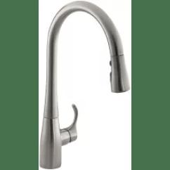 Kohler Kitchen Sink Faucets Trash Compactor Build Com Pot Filler Bar Simplice Single Hole Faucet With 16 5 8 Pull