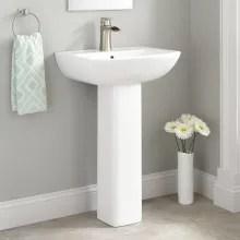bathroom pedestal sink tops only at