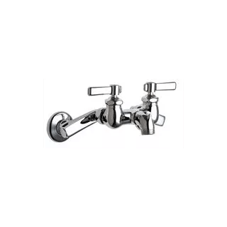 Chicago Faucets 305-RXKCP Chrome Wall Mounted Service Sink