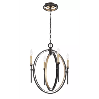 Eurofase Lighting 25646-016 Oil Rubbed Bronze / Gold Leaf