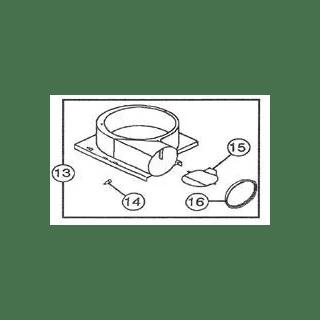 NuTone 1307A000 na Blower Housing Assy QT80/110