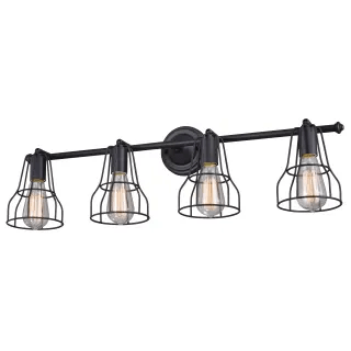 Vaxcel Lighting W0314 Oil Rubbed Bronze Clybourn 4 Light