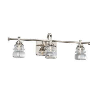 WAC Lighting WS-42524-PN Polished Nickel Rondelle 3 Light
