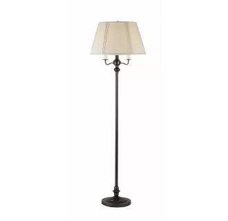 cal lighting floor torchiere lamps at