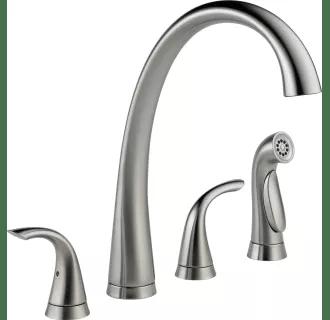 double handle kitchen faucets at faucet com