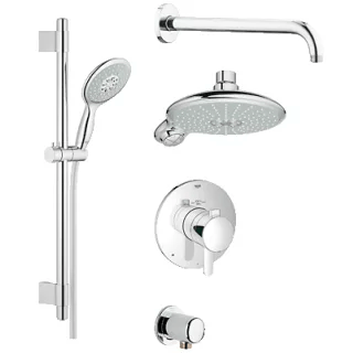 grohe shower faucets at faucet com
