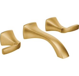 moen brushed gold products