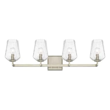 Capital Lighting 111241BS-317 Brushed Silver Arden 4 Light
