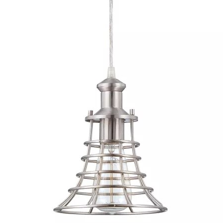 Craftmade P350BNK1 Brushed Polished Nickel 1 Light Mini