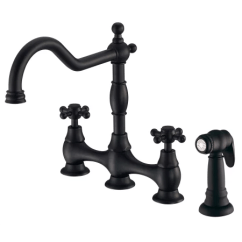 Danze Opulence Kitchen Faucet Las Vegas Strip Hotels With D404457bs Satin Black Metal Side A Large Image Of The D404457