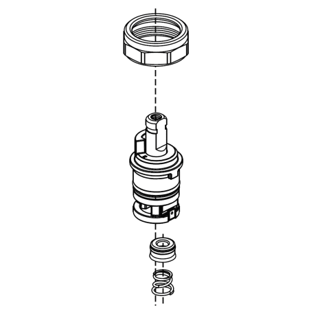 Delta RP64761 N/A Talbott Replacement Stem Unit Assembly
