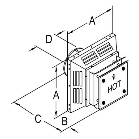 DuraVent 58DVA-HC Galvanized 5