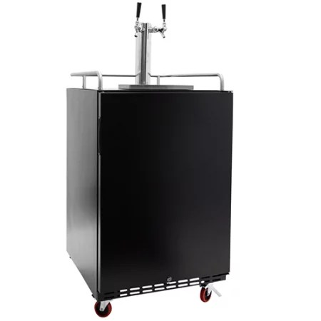 EdgeStar Full Size Dual Tap Built-In Kegerator - KC7000SSTWIN