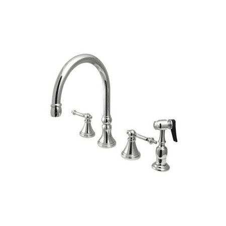 Elements Of Design ES2791TLBS Chrome Double Handle 8