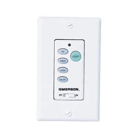Emerson SW102 White Battery Operated Fan and Light Dimmer