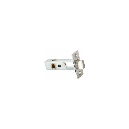 Emtek EM28PVL234S15 Satin Nickel 28 Degree Privacy Latch With 2 34 Backset And Square Corners