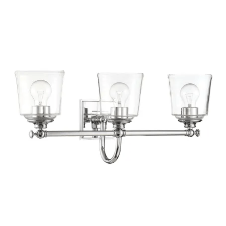 Park Harbor PHVL3013PC Polished Chrome Antonia 3 Light 25