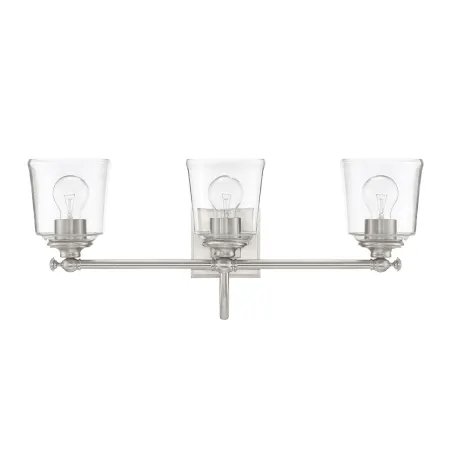 Park Harbor PHVL3013BN Brushed Nickel Antonia 3 Light 25-1