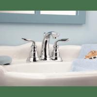 Pfister GT48-CB0K Brushed Nickel Avalon Centerset Bathroom ...