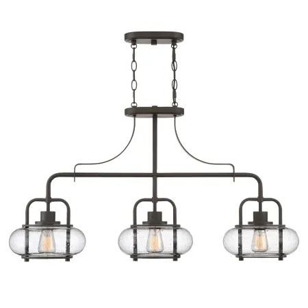 Quoizel TRG338BN Brushed Nickel Trilogy 3 Light 38