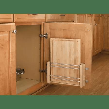 Rev A Shelf 4DMCB 18 Natural Wood 4DMCB Series Door Mount