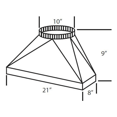 Vent-A-Hood VP566 N/A M1200 Standard Duct Transition