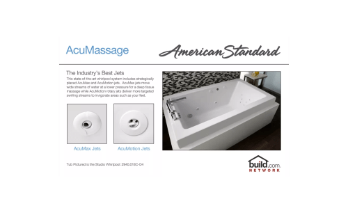 small resolution of american standard 2770 018w 020 white cadet 59 7 8 acrylic whirlpool
