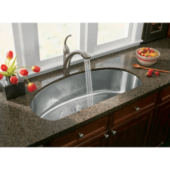 Kohler Kitchen Sink Faucets Draining Board K 10433 Cp Polished Chrome Forte Single Hole Or 3 Faucet With 10 1 8 Pullout Spray Spout Masterclean Sprayface Com
