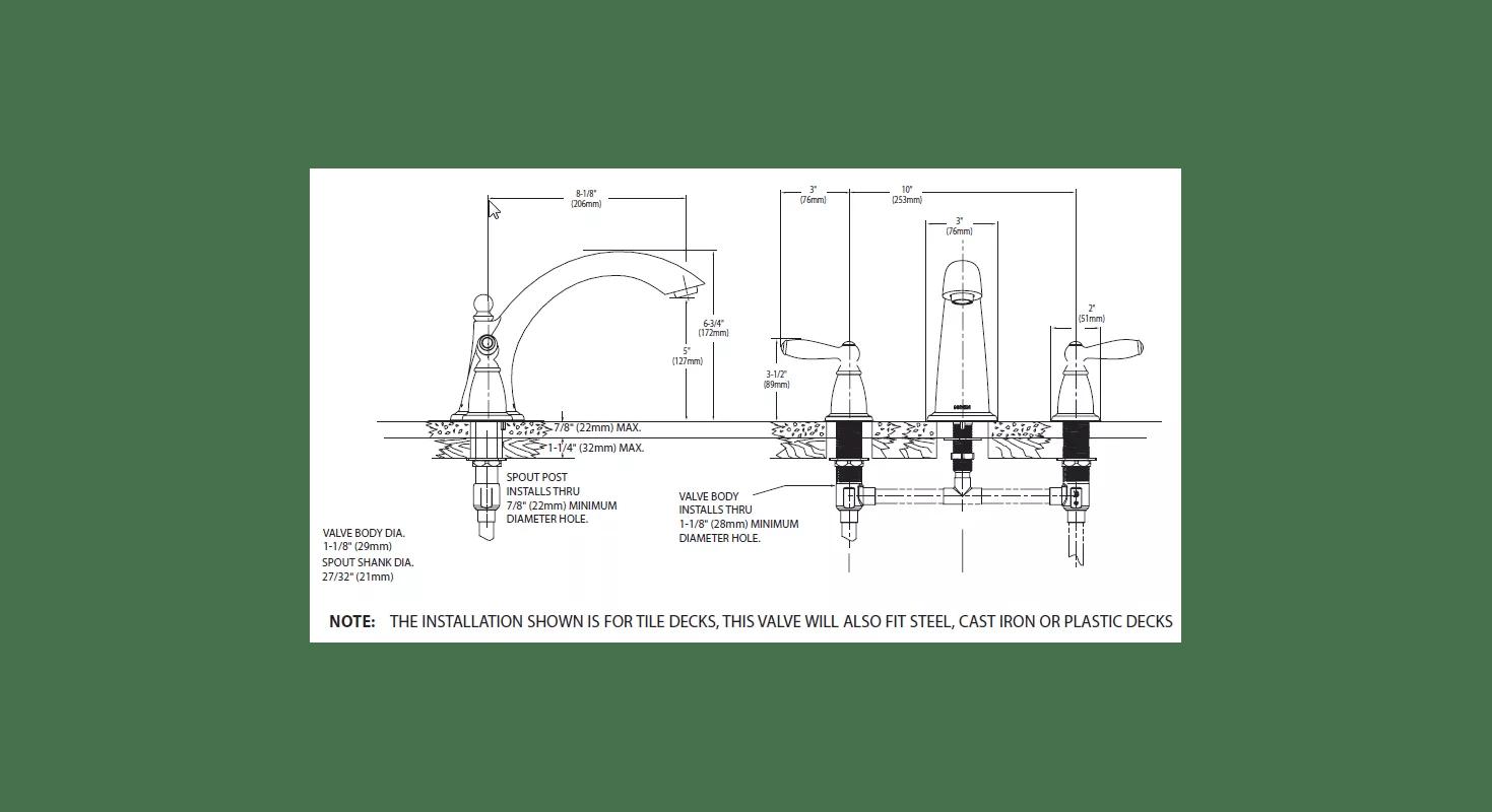 Moen A112 18 1m Kitchen Faucet Replacement Parts Wow Blog
