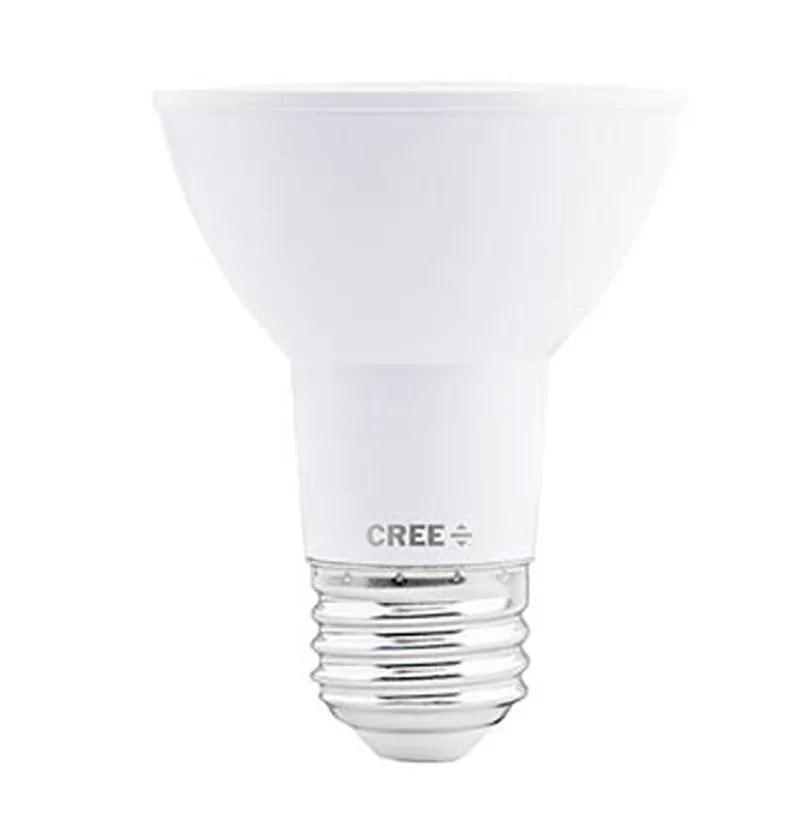 cree led lighting par20 50w p1 27k 25nf e26 u1