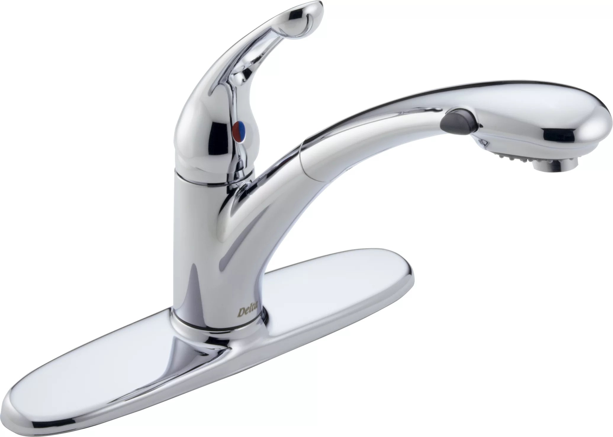 pull out kitchen faucets appliance repair delta 472 dst chrome signature faucet includes lifetime warranty com