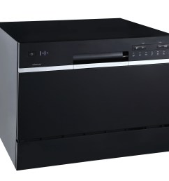22 inch wide 6 place setting energy star rated countertop dishwasher [ 4423 x 3675 Pixel ]