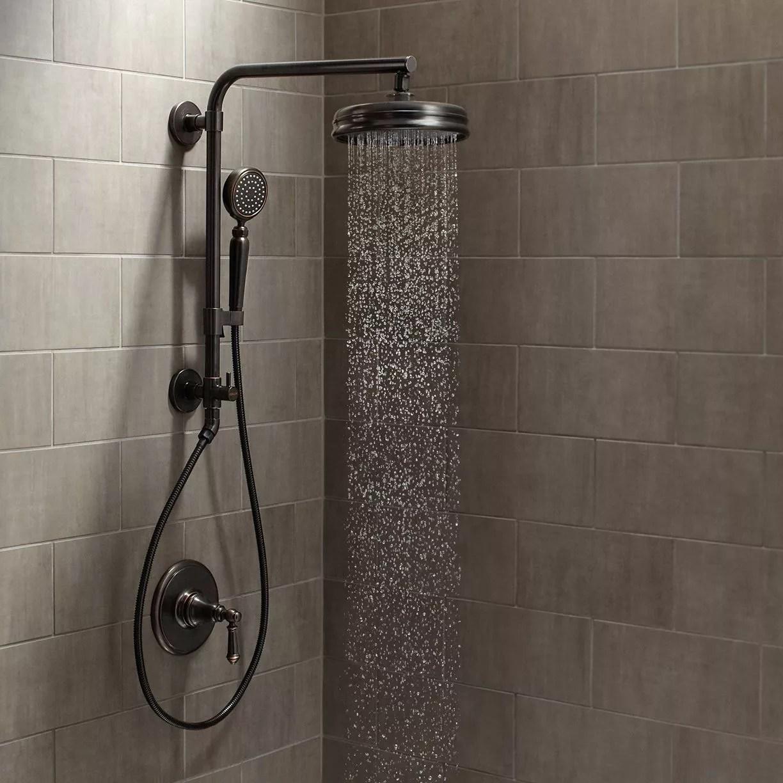 Kohler Artifacts Hydrorail Custom Shower System 2bz Oil