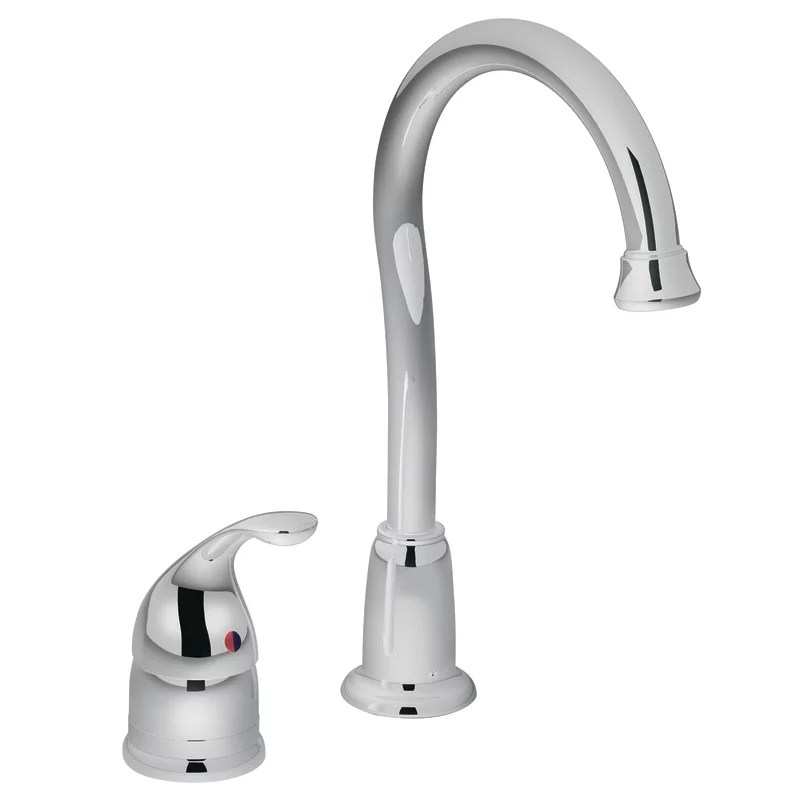 kitchen faucet moen hutch plans 4905 chrome single handle bar from the camerist collection com