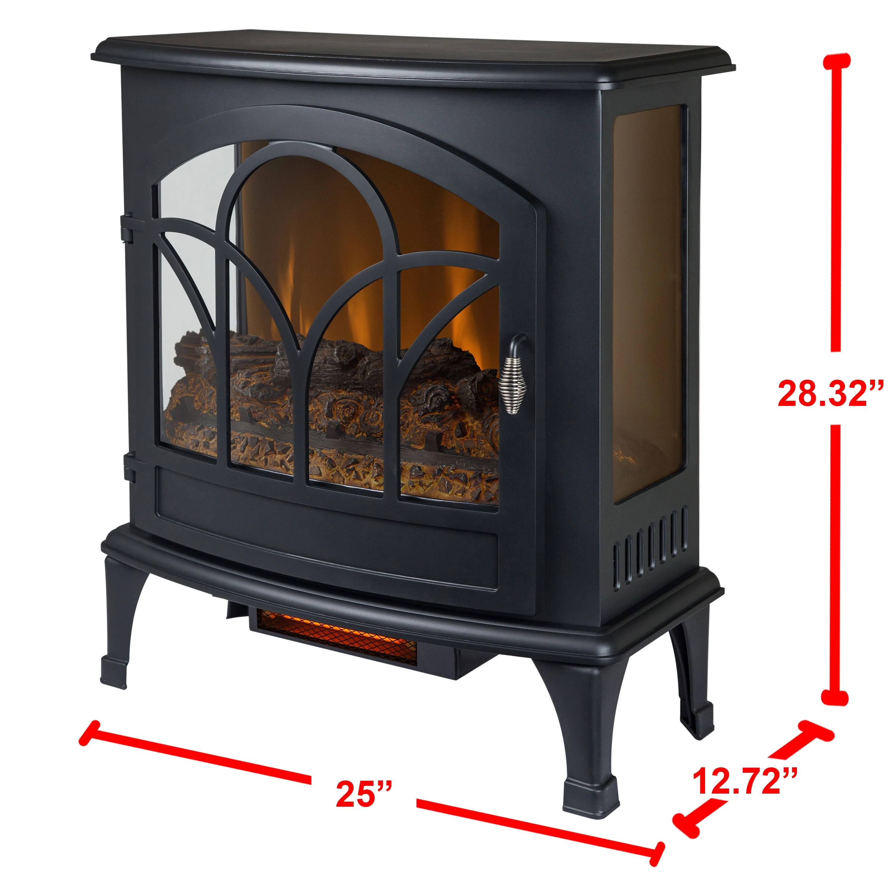 Did not come with stand for freestanding if i had decided. Muskoka Free Standing Stove Est 425t 10