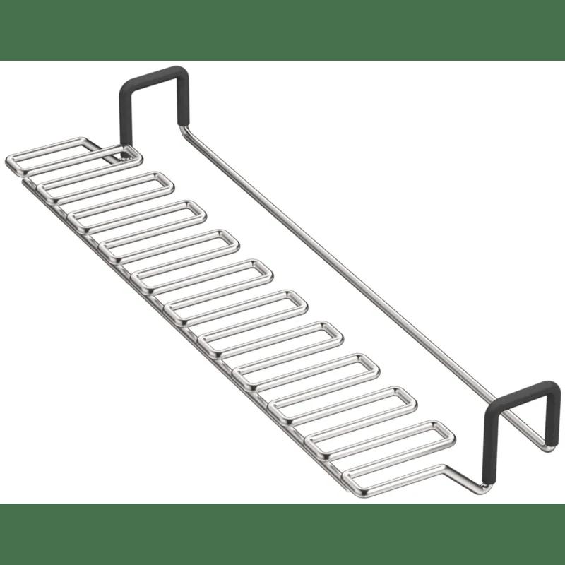kohler kohler k 6434 st strive stainless steel saddle utility rack stainless steel sink accessories and parts kitchen sink accessories basin racks